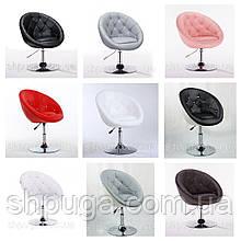Перукарське ,косметичне крісло код 8516 шкірзам колір на вибір з каталогу.