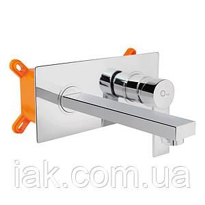 Змішувач прихованого монтажу для раковини Qtap Form CRM 001B