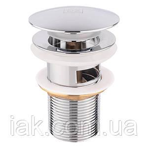 Донний клапан для раковини Lidz (CRM) 47 00 003 00 з переливом
