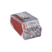 З'єднувальний затискач (1-2.5 мм) 2-х полюсний 24А (Haupa) 265013