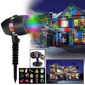 Лазерные проекторы и праздничное освещение