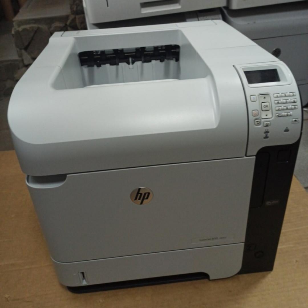 Принтер HP LaserJet 600 M602 DN (601 / 603) пробіг 159 тис. сторінок з Європи