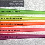 Свеча столовая, яркие цвета, фото 3