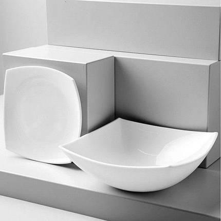 Тарелка суповая Luminarc QUADRATO WHITE H3659 200 мм, фото 2