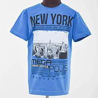 Футболка подростковая New York  синий
