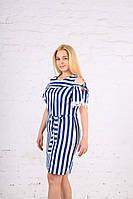 Летнее котоновое платье женское (48-54 р) , доставка по Украине Укрпочта,НП,Джастин