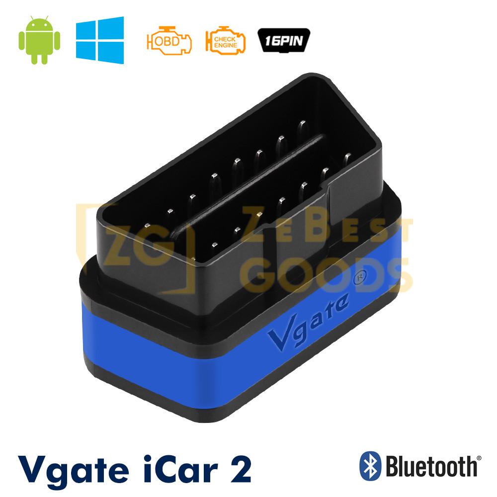 Автосканер Vgate iCar2 OBD 2 ELM327 OBD2 Bluetooth 3.0