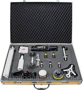 Набор инструментов для ремонта автомобильных  стекол, комплект инструментов для ремонта сколов и трещин