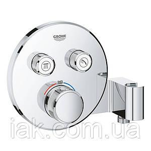 Зовнішня частина термостатичного змішувача для душу Grohe Grohtherm SmartControl 29120000 для двох споживачів