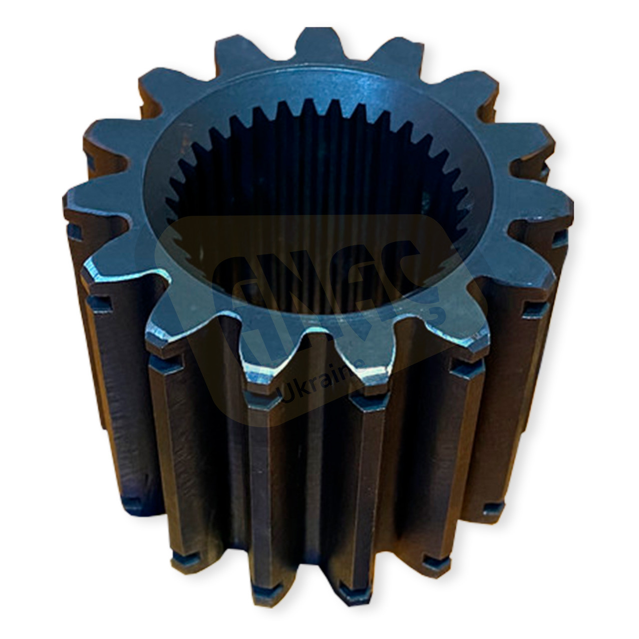 450/10215 Шестерня полуоси внутренняя тормозных дисков на JCB 3CX, 4CX
