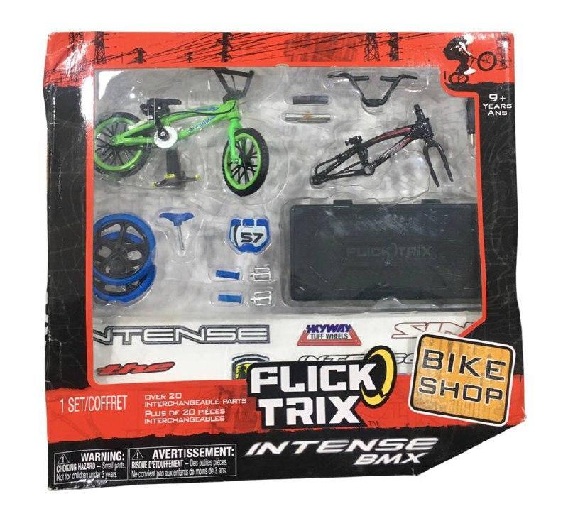 Набор фингербайк + запчасти Flick Trix Intense BMX bike shop fingerbike