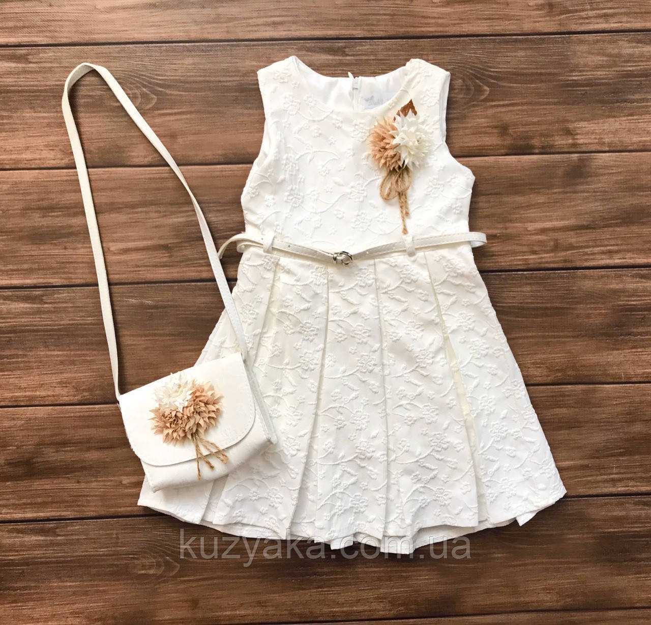 Дитяча святкова сукня на 5-8 років, сукня на випускний в садок