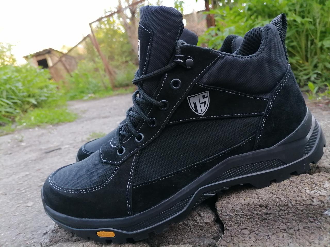 Кросівки тактичні високі демісезонні MAX Resolution, black