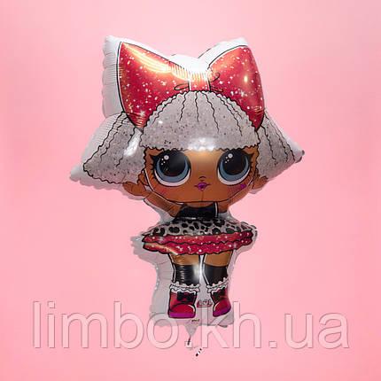 Фольгированная фигура  Кукла ЛОЛ Дива, фото 2
