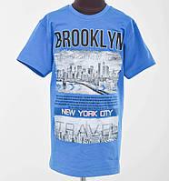Футболка подростковая Brooklyn синий