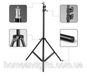 Студийная фото стойка портативный штатив для лампы кольцевой 200 см Fancier Weifeng WT-803 (zhg0865)