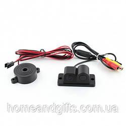 Автомобільна камера заднього виду з парктроніком CAR CAM 01R Black (zhg0038)