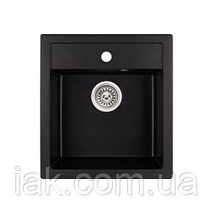 Кухонна мийка Qtap CS 5046 BLA (QT5046BLA404)