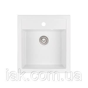 Кухонна мийка Qtap CS 5046 WHI (QT5046WHI650)