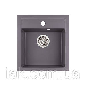 Кухонна мийка Qtap CS 5046 GRE (QT5046GRE471)