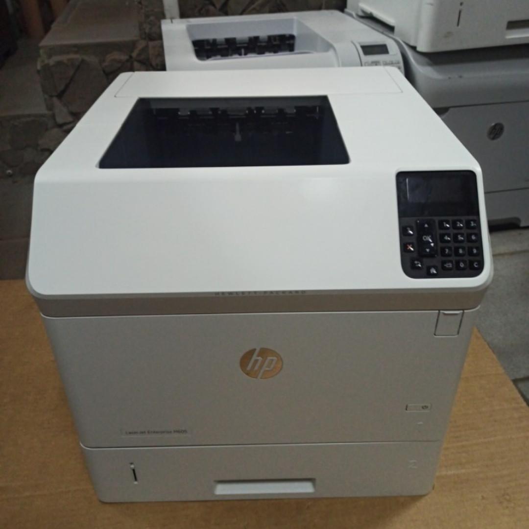 Принтер HP LaserJet Enterprise M605dn пробіг 81 тис з Європи