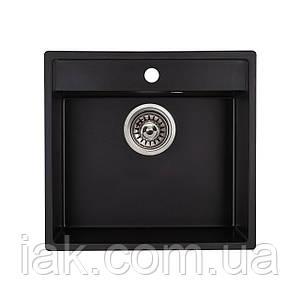 Кухонна мийка Qtap CS 5250 BLA (QT5250BLA404)