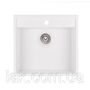 Кухонна мийка Qtap CS 5250 WHI (QT5250WHI650)