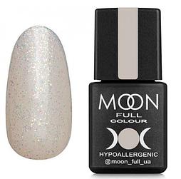 MOON FULL Opal color №502 безбарвний напівпрозорий з дрібним різнокольоровим шіммер, 8 мл.