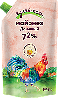 Майонез Домашній 72% Дой-пак 300 г ТМ Гуляй-поле