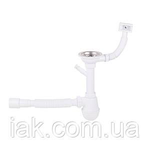 Сифон для кухонної мийки Lidz (WHI) 60 05 M002 01