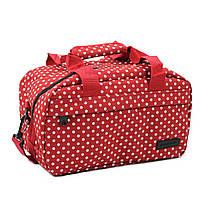 Сумка дорожная Members Essential On-Board Travel Bag 12.5 Red Polka