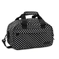 Сумка дорожная Members Essential On-Board Travel Bag 12.5 Black Polka