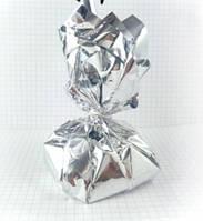 Грузик для шаров 150 грамм серебро