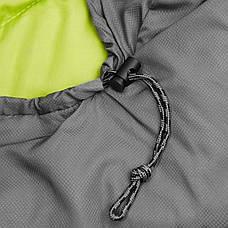 Спальний мішок-ковдра SportVida SV-CC0015 Grey/Green (спальник), фото 3