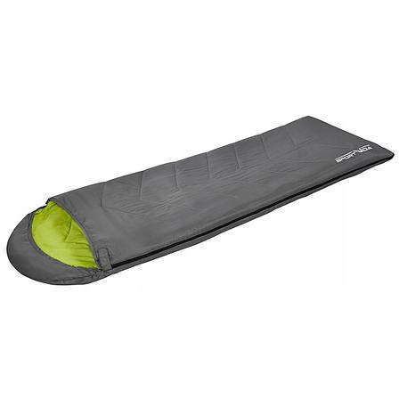 Спальний мішок-ковдра SportVida SV-CC0015 Grey/Green (спальник), фото 2