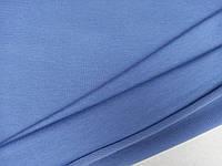 Ткань двухнитка (футер),ширина 1,80 м, цвет джинс