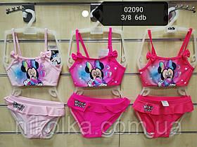 Купальники для девочек оптом, Disney, 3-8 лет, арт. 02090