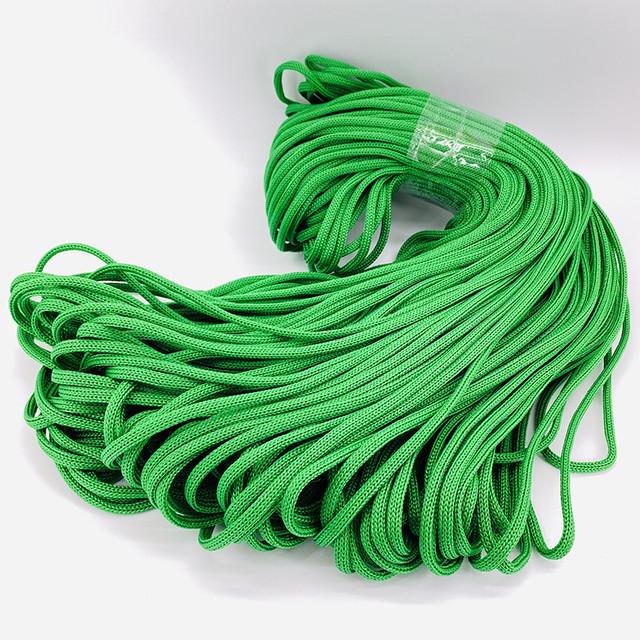 Шнур полиэфирный цветной (без сердечника)