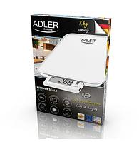 Весы кухонные электронные USB Adler 3167 сенсорные с плоской платформой до 10 кг