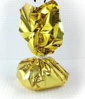 Грузик для шаров 150 грамм золото