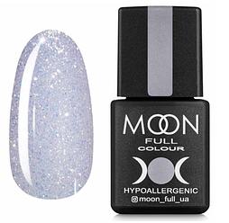 MOON FULL Opal color №509 напівпрозорий бузковий з шіммери, 8 мл.