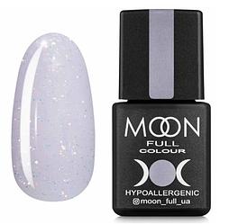 MOON FULL Opal color №510 ніжно-ліловий з золотими блискітками, 8 мл.