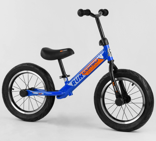 "Детский велобег-беговел Велобег 14"" CORSO CR-9571 синий"