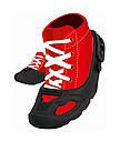 Защитные накладки Big для детской обуви черные 56446, фото 3