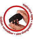Защитные накладки Big для детской обуви черные 56446, фото 4