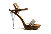 Босоножки женские на высоких каблуках