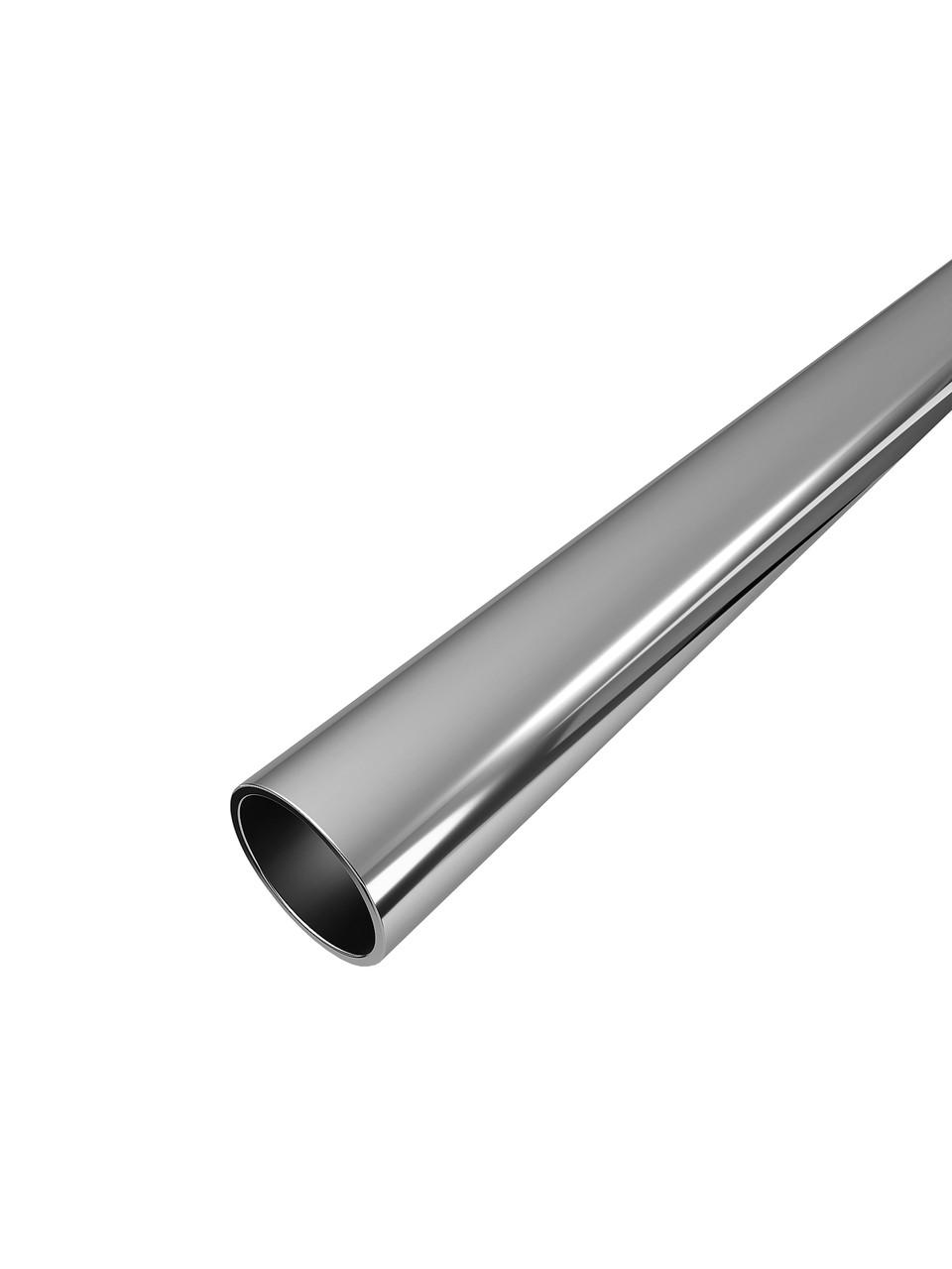 ODF-09-11-02-L1000 Штанга для душевых кабин из нержавейки, длинной 1000 мм,диаметром 16 мм, полированная