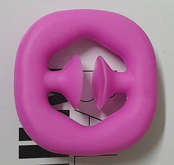"""Сенсорная игрушка антистресс Чпокалка """"  Pop It Поп Ит Симпл Димпл вечная пупырка """" Оригинал КАЧЕСТВО розовый"""