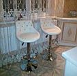 Косметичне крісло , крісло майстра код 931 стрази , шкірзам колір на вибір ., фото 9