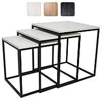 Журнальный стол 3 в 1 «Драконник» в стиле Лофт Loft столик кофейный чайный